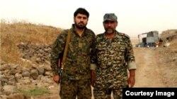 عکس مربوط به نیروهای سپاه است که پیش از این در سوریه کشته شدند.