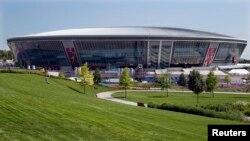 Так виглядала «Донбас-Арена» під час матчів Євро-2012