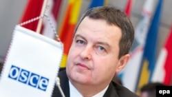 Действующий председатель ОБСЕ, министр иностранных дел Сербии Ивица Дачич (архив)