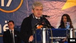Архивска фотографија: Претседателот на ДУИ Али Ахмети.
