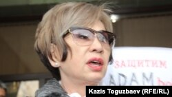 Журналист Гүлжан Ерғалиева.