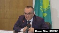Председатель совета по этике департамента агентства по делам государственной службы и противодействию коррупции по Северо-Казахстанской области Галым Турсынбаев.