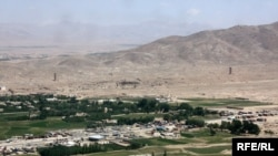 The city of Ghazni, in central Afghanistan