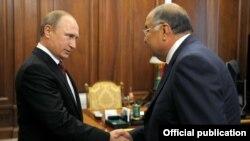 Владимир Путин ва Алишер Усмонов, 30.06.2015