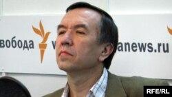 Владимир Лысенко в студии Радио Свобода