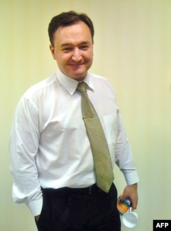Russian lawyer Sergei Magnitsky in Moscow in 2007