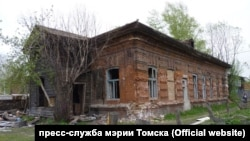 Tomsk house for restoration