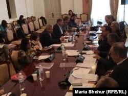 Учасники другого семінару комісії «Правда, справедливість і примирення» в Києві