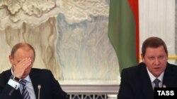 Владимир Путин и Сергей Сидорский встречались не раз. Похоже, их нынешний разговор вряд ли станет приятным