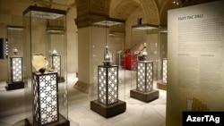 Şirvanşahlar Sarayı Kompleksində muzey ekspozisiyası