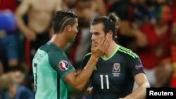 Ronaldo və Bale oyundan sonra