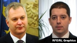 Dragan Šutanovac i Marko Đurić
