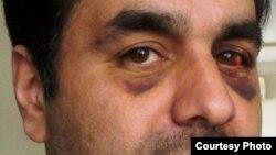 تصویر منتشر شده از جواد سلیمی، داماد میرحسین موسوی در وبلاگ شخصی علی شکوری راد که به نوشته کلمه متعلق به ۱۴ فروردین است .