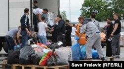 Prikupljanje pomoći ugroženim komšijama iz Srbije i Crne Gore, 20. maj