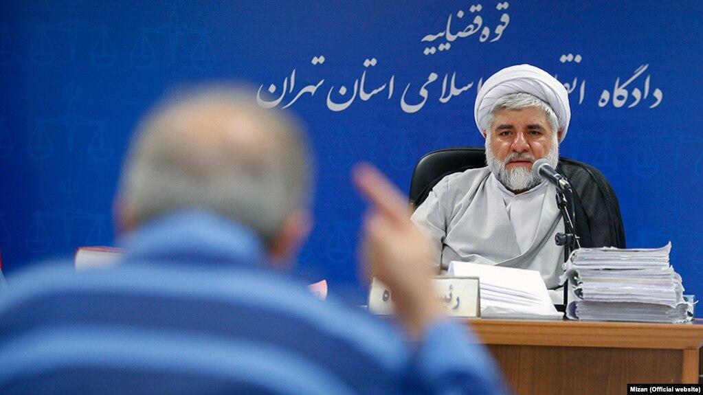 محمد مقیسه، رئیس شعبه ۲۸ دادگاه انقلاب تهران