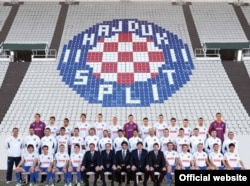 Naslovnica kalendara Hajduka za 2012.