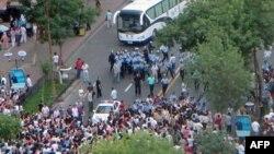 Протести на етничките Ујгури во Урумки на 6 јули 2009 година.