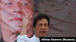 د پاکستان تحریک انصاف مشر عمران خان.