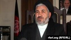 سید حسین عالمی بلخی وزیر مهاجرین و عودت کنندهگان