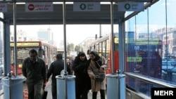 Iran -- Tehran's Bus Rapid Transit; BRT, undated.