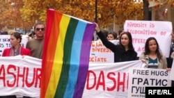 Од неодамнешниот граѓаски марш за толеранција низ улиците на Скопје