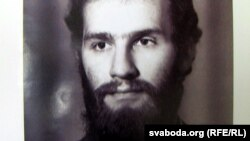 Юры Данькоў у маладосьці. Фота з кнігі «Нашчадак зьнявечаных лёсаў»