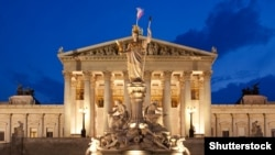 Здание парламента Австрии в Вене