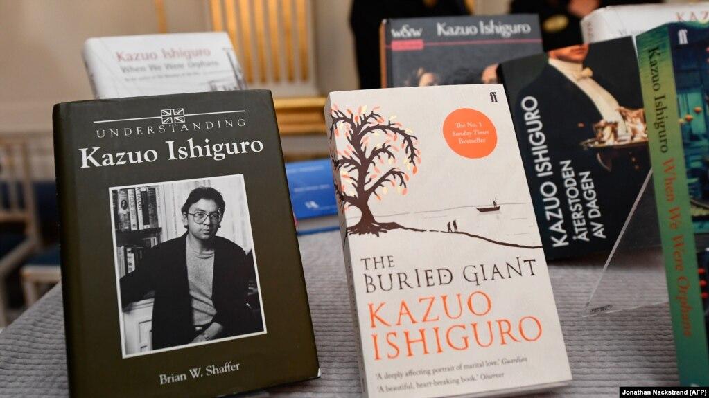 Shkrimtari britanik Kazuo Ishiguro