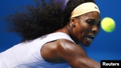 Первая ракетка мира Серена Уильямс.