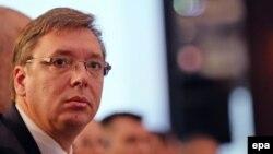 Премиерот на Србија Александар Вучиќ