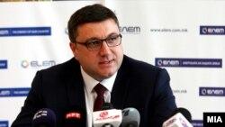 Прес-конференција на генералниот директор на АД ЕЛЕМ Драган Миновски. 25.09.2017