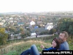 Алена і Юры Крэні. На даляглядзе магілёўскае Задняпроўе