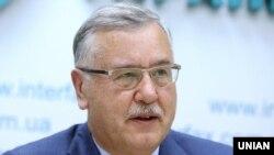 Лідер партії «Громадянська позиція» Анатолій Гриценко