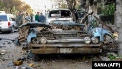 Pamje nga Damasku, ilustrim.