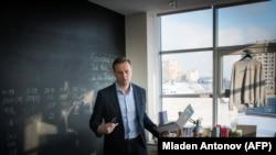 Алексей Навальный в офисе ФБК. Архивное фото