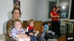 Беженцы с юга во Владикавказе