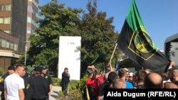 Protest rudara u Sarajevu