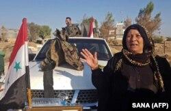 نیروهای ارتش سوریه در تلتمر استان حسکه