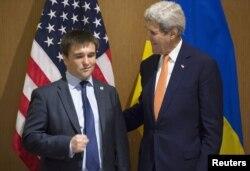 Держсекретар США Джон Керрі і міністр закордонних справ України Павло Клімкін в Анталії, 13 травня 2015 року