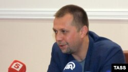 Александр Бородай, «премьер-министр» ДНР.