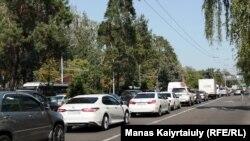 Almatıda nəqliyyatın hərəkəti əngəllənib, 15 iyul, 2019