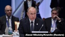 Președintele Vladimir Putin la Consiliul Economic Suprem Eurasiatic de la Nur-Sultan, 29 mai 2019