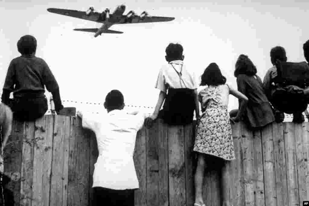 During the Berlin Airlift, Allied forces flew a total of 278,228 transport flights from the West to foil the Soviet blockade.