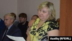 Ольга Гавриленко-Зыятдинова мәхкәмә утырышында