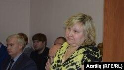 Ольга Зыятдинова мәхкәмә утырышларының берсендә