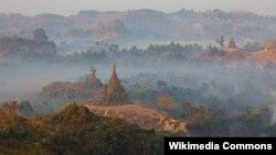 Мьянма табиғатының көрінісі. (Көрнекі сурет)