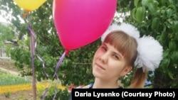 Дарья Лысенко, выпускница школы в Уральске. Фото из личного архива.