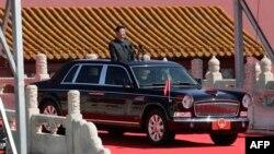 Архівне фото: Сі Цзіньпін під час військового параду в Пекіні