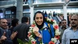 Kimia Alizadeh a devenit prima femeie din Iran care a câștigat o medalie olimplică, în 2016, după Jocurile Olimpice de la Rio de Janeiro.