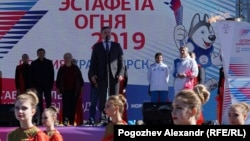 Этап эстафеты огня прошел в Ставрополе